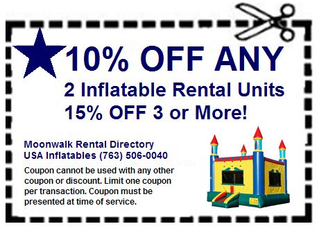 Moonwalk Usa Inflatables