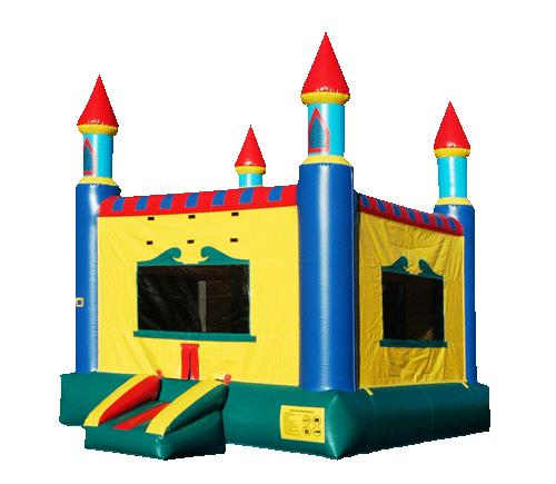 Bounce house rental company in X, MA.